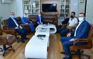 Başkan Çınar, İl Müftüsü Işıldar İle İlçe...