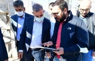 Başkan Çınar, Yakınca Spor Adası İçerisindeki...