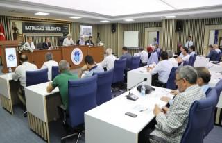Battalgazi Belediye Meclisi, Ağustos ayı olağan...