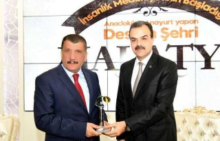 Alperen Ocakları Genel Başkanından Başkan Gürkan'a...