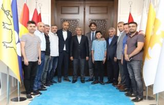 Altıntop ve Kafkas'tan Başkan Güder'e Ziyaret