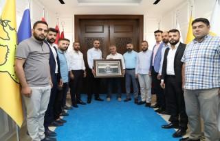 Anadolu Selçuklu Ocaklarından Başkan Güder'e Ziyaret