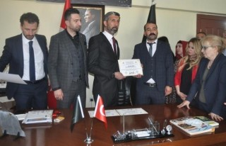 Başkan Aygün Ankara İl ve Genel Merkez Binasının...