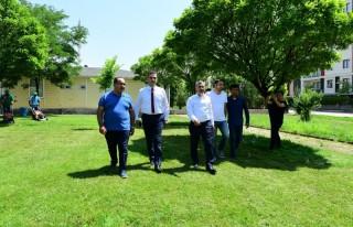 Başkan Çınar, Fidanlıkta İncelemelerde Bulundu
