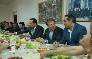 Başkan Gevrek, Vahap Güner'i Ziyaret Etti