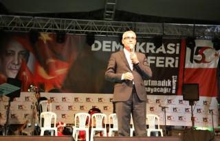 Başkan Güder, 15 Temmuz Programında Konuştu