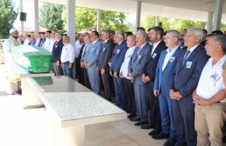 Başkan Güder, Haydar Karaduman'ın cenaze törenine...