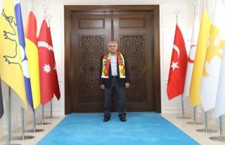 Başkan Güder, Yeni Malatyaspor-Olimpija Ljubljana...