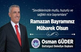 Başkan Güder'in Ramazan Bayramı Mesajı