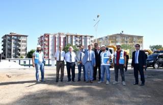 Başkan Gürkan, 300 Yataklı Devlet Hastanesi İnşaatını...