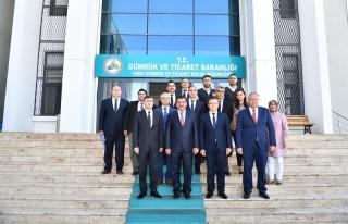 Başkan Gürkan, Fırat Gümrük ve Dış Ticaret...