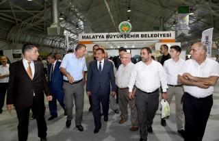 Başkan Gürkan Fuar Alanını Ziyaret Etti
