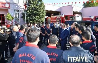 Başkan Gürkan, İtfaiyecilik Haftasını Kutladı