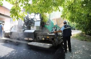 Battalgazi'de Sıcak Asfalt Çalışmaları Bölge...