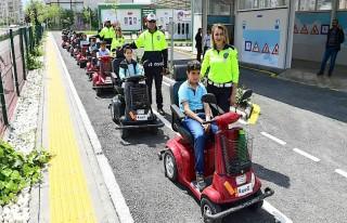'Çocuklara Trafik Eğitimi'