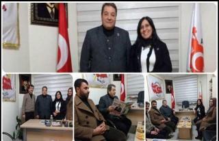 Fendoğlu Abyb'yi Ziyaret Etti