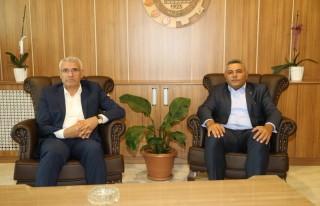 Başkan Güder'den TSO'ya Ziyaret