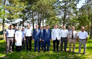 Gürkan ve Çakır, Tabiat Parkı 1. Etap çalışmalarını...