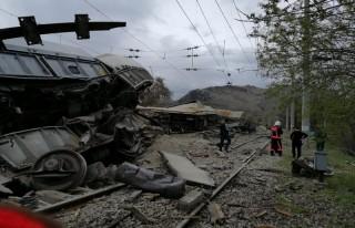 Hekimhan'da Tren Kazası... Olası Facia Önlendi