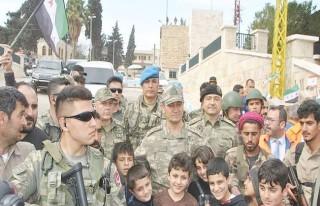 Korgeneral Temel, Afrin'de TSK Birliklerini Denetledi