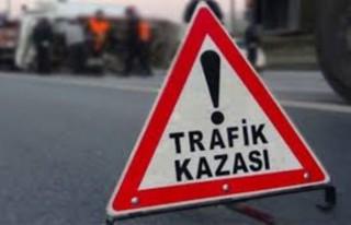 Malatya'da Devrilen Tır'ın Şoförü Mucize Eseri...