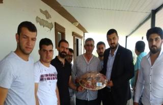 MTÜ Öğrencileri Şehit Halisdemir'in mezarını...