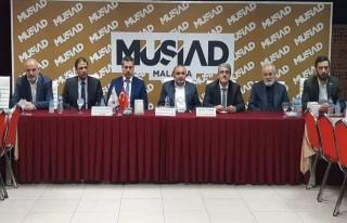 MÜSİAD Malatya Üyelerine bilgilendirme toplantısı.