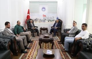 Nuh Boyraz, Başkan Güder'i Ziyaret Etti!