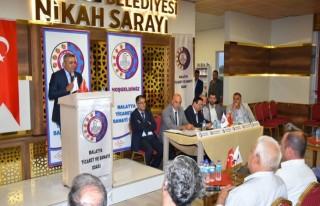 Pütürge'de TSO Meclis Toplantısı Gerçekleştirdi