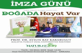 Rektör Karabulut'un üçüncü kitabı yayınlandı;...