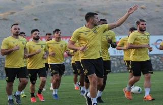 Y.Malatyaspor'da Alanyaspor maçı hazırlıkları...