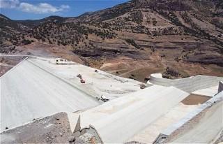 Yoncalı Barajında Çalışmalar Sürüyor