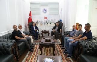 Yücekaya'dan Başkan Güder'e Ziyaret