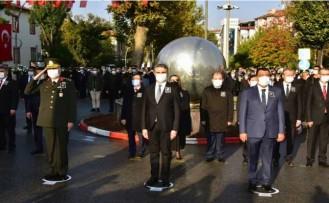 Malatya'da 10 Kasım Atatürk'ü Anma Günü Töreni Gerçekleşti