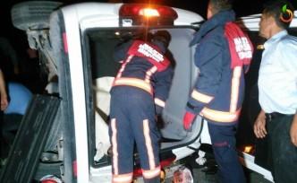 Darende Yolunda Feci Kaza... 8 yaralı