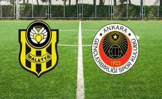 MAÇ SONUCU   Yeni Malatyaspor 2-1 Gençlerbirliği