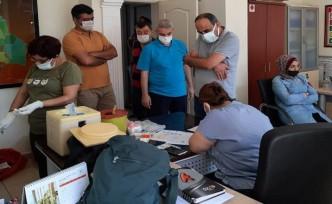 Yeşilyurt Belediye Personelleri Covid-19 Virüsüne Karşı Aşı Oluyor