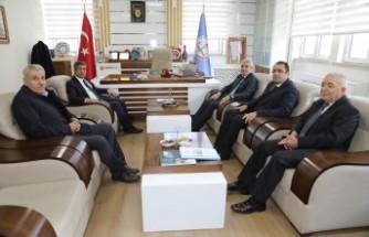 Başkan Güder'den Milli Eğitim Müdürü Tatlı'ya Ziyaret