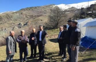 CHP Heyeti Deprem Bölgesinde