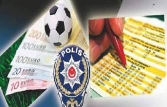Malatya'da Bahis Operasyonu...8 gözaltı