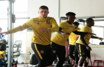 YMS'da Antalyaspor maçı hazırlıkları başladı