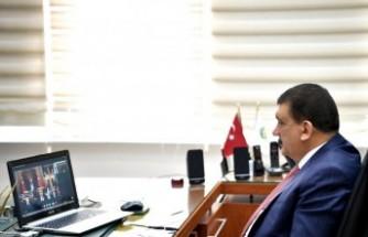 Başkan Gürkan, Erdoğan'a Malatyalıların Selam Ve Saygılarını İletti