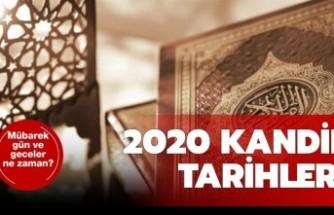 Berat Kandili ne zaman? 2020 Kandil Tarihleri-7 Nisan Kandil mi?