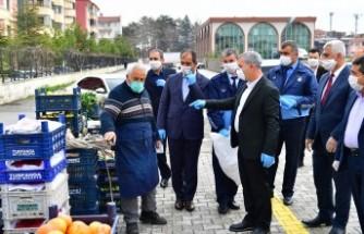 Yeşilyurt Belediyesi 3 Ay Pazar Yeri İşgaliye Parası Almayacak