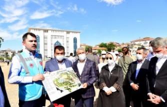 Çevre ve Şehircilik Bakanı Murat Kurum Malatya'da İncelemelerde Bulundu
