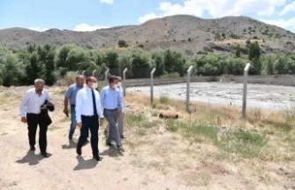 Müdür Karataş, Yazıhan'da Çalışmaları İnceledi