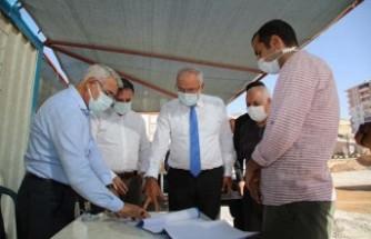Kahtalı ve Başkan Güder, Battalgazi'deki Yatırımları İnceledi