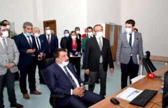 Maski'den Başkan Gürkan'a Scada Brifingi