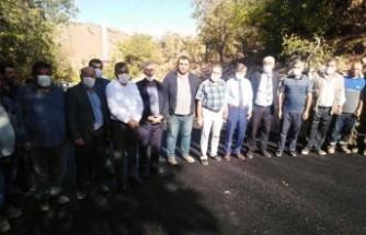Büyükşehir Belediyesi Arapgir'de Yolları Asfaltlanıyor