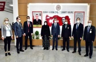 Ağız ve Diş Sağlığı Hastanesine Şehit Mehmet Kılınç'ın Adı Verildi